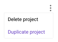 Duplicate Projects in Forecast
