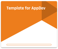 AppDev Project Template in Forecast