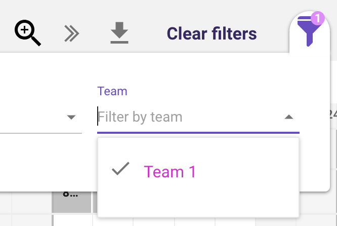 forecast_scheduling-filterbyteam